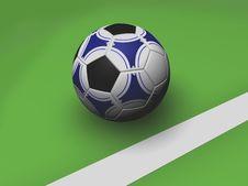 Free Soccer Ball Royalty Free Stock Photos - 1529058