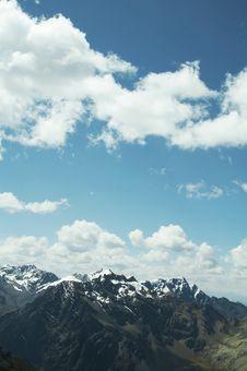 Free Cordilleras Mountain Royalty Free Stock Photography - 1529247