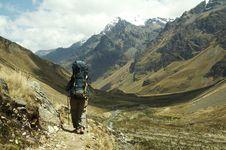 Free Hiking In Cordilleras Royalty Free Stock Image - 1529266