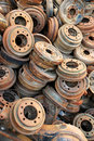 Free Rusted Brake Rotors Stock Image - 15208011