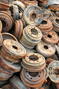 Free Rusted Brake Rotors Royalty Free Stock Photography - 15208047