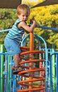 Free Boy At The Playground Royalty Free Stock Photos - 15209478