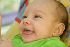 Free Happy Newborn Lies Stock Photos - 15200473