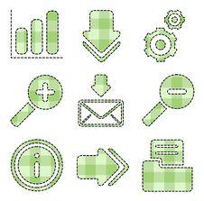 Free Web And Internet Icons - Handmade Series Stock Photo - 15200860