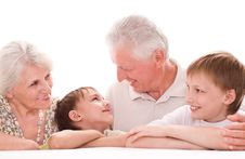 Free Portrait Of A Happy Family Stock Image - 15200951