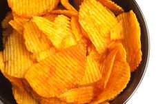 Free Potato Chips Royalty Free Stock Images - 15201259