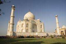 Free Taj Mahal With Minarets Royalty Free Stock Photos - 15201368