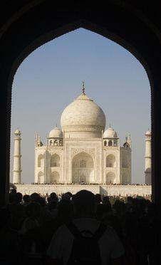Taj Mahal Entrance Gate Royalty Free Stock Image