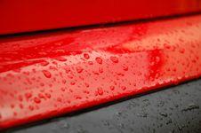 Free Car Rainy Cowling Royalty Free Stock Image - 15201456