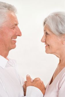 Elderly Couple Together Stock Photos