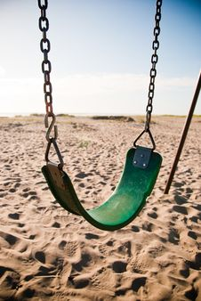 Free Beach Swing Stock Photos - 15203603