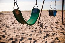Free Beach Swings Stock Photos - 15203613