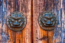 Free Old Metal Door Knob In China Royalty Free Stock Photo - 15204255