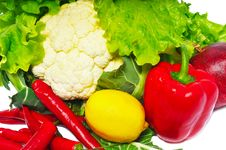 Free Few Vegetables Stock Images - 15204484