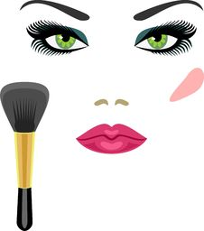Free Makeup Royalty Free Stock Photos - 15204558
