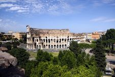 The Collosseo In Rome Royalty Free Stock Photos