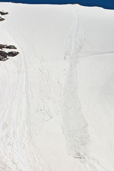Free Avalanche Track Stock Photography - 15205192
