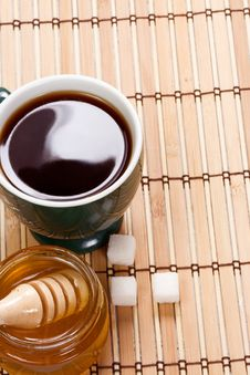 Free Coffee And Honey Royalty Free Stock Photos - 15205428