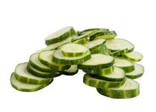 Free Cucumber Slices Stock Photography - 15205522