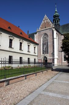 Free Building Of Monastery In Brno Stock Photography - 15206322