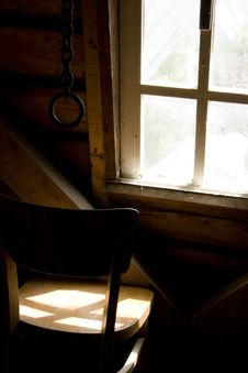 Free Sunlight On A Chair Royalty Free Stock Image - 15206366