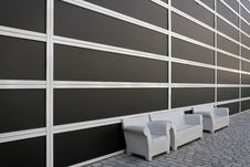 Sofa Benches Stock Image