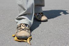 Free Man Comes Royalty Free Stock Image - 15207006