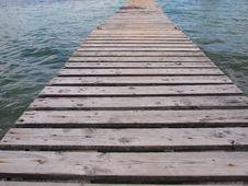 Free Wooden Footbridge Stock Photography - 15207132