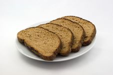 Free The Bread On Plate Royalty Free Stock Photos - 15207158