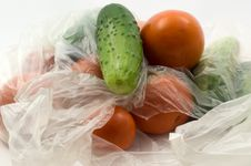 Free Tomatoes And Cucumbers Royalty Free Stock Photography - 15207247