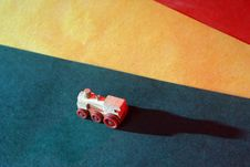 Free Wooden Toy Locomotive Stock Images - 15207964