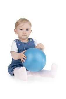 Free Kid With Ball Stock Photo - 15208440