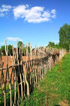 Free Old Fence Royalty Free Stock Photography - 15209097