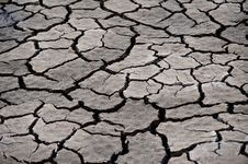 Free Cracked Soil Stock Photography - 15209172