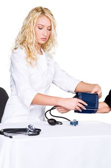 Preparation For Taking Blood Pressure
