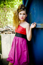 Free Teenager Girl Model Presenting Clothes Royalty Free Stock Photos - 15211808