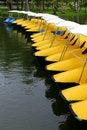 Free Yellow Boat Stock Image - 15212171