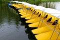 Free Yellow Boat Stock Image - 15212181