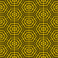Free Yellow And Black Woven Stars Royalty Free Stock Image - 15216276