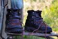 Free Old Boots Royalty Free Stock Photography - 15217887