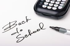 Free Back To School Stock Photo - 15210420