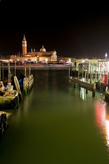 Free Venetian Night Royalty Free Stock Images - 15210509