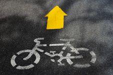 Bicycle Way Stock Photos