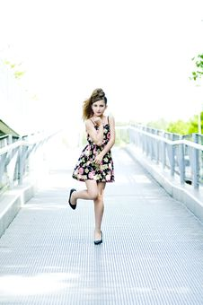 Free Teenager Girl Model Royalty Free Stock Photos - 15211408