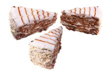 Free Three Slices Of Cake Royalty Free Stock Images - 15212419