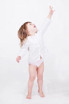 Free Studio Porrait Of Cute Child Stock Photography - 15212842