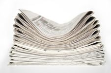 Free Newspapers Royalty Free Stock Photo - 15214435