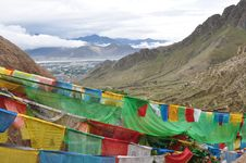 Free Prayer Flags Stock Images - 15215114