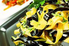 Free Black White Pasta Stock Image - 15215471