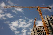 Free Crane  Construction Stock Photos - 15215903